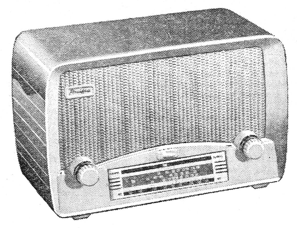 NZ Vintage Radio - 1953 Pacific (Post-WWII) model 513