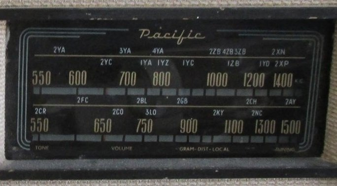 NZ Vintage Radio - 1948 Pacific (Post-WWII) model 518