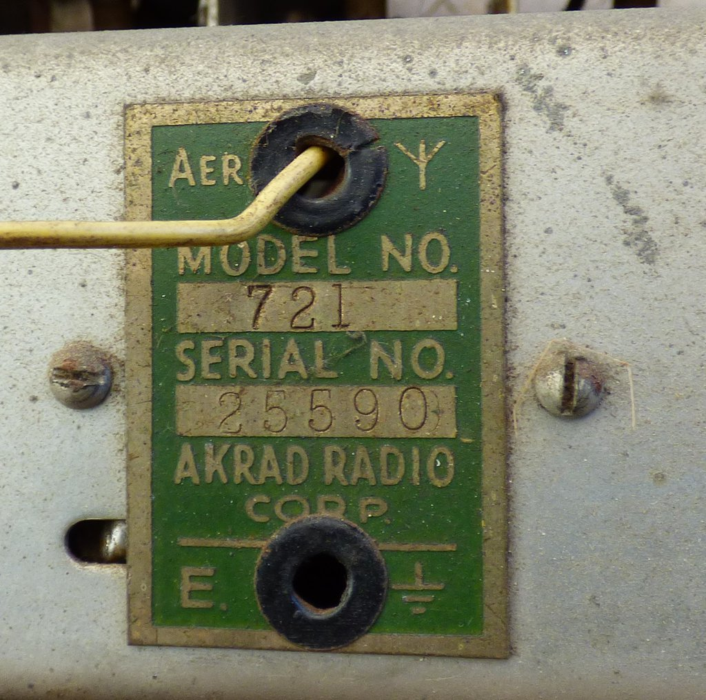 NZ Vintage Radio - 1951 Pacific (Post-WWII) model 721