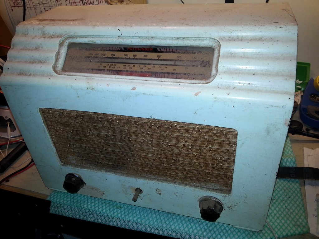 NZ Vintage Radio - Pathfinder 516