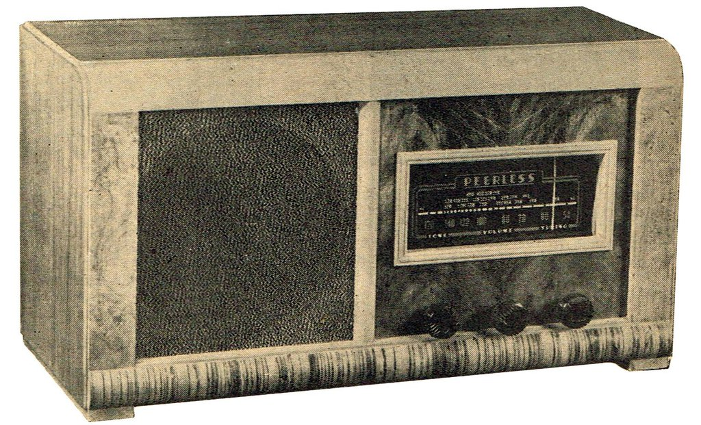 NZ Vintage Radio - Peerless  model 4751