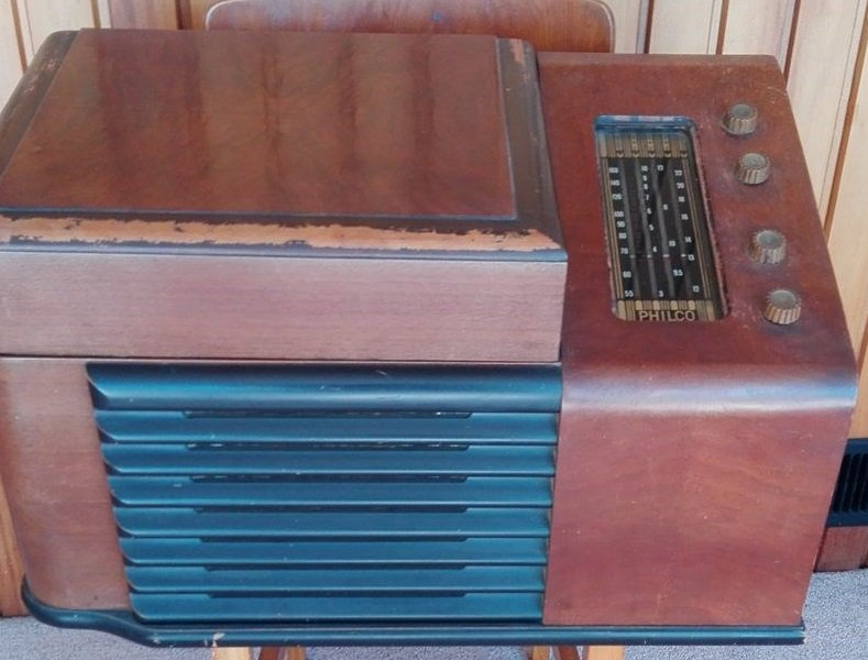 NZ Vintage Radio - 1948 Philco model 1204