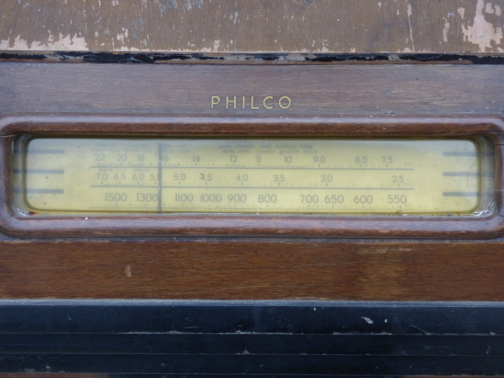 NZ Vintage Radio - Philco 147