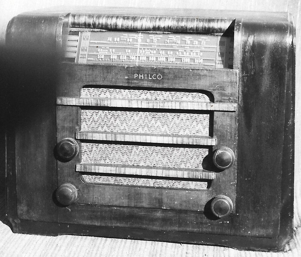 NZ Vintage Radio - 1941 Philco 41-710