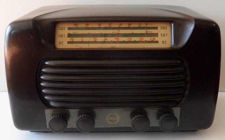NZ Vintage Radio - 1955 Philco model 522