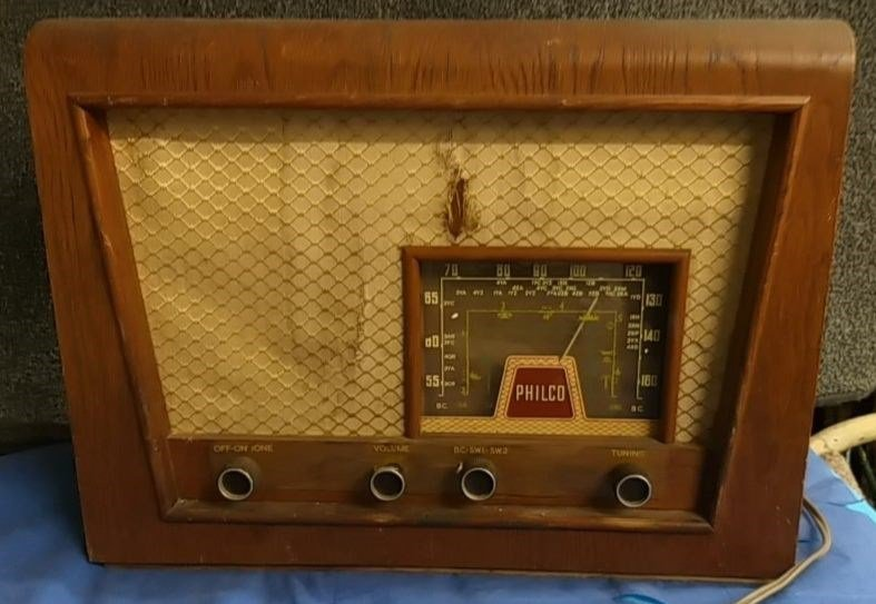 NZ Vintage Radio - 1955 Philco  model 523