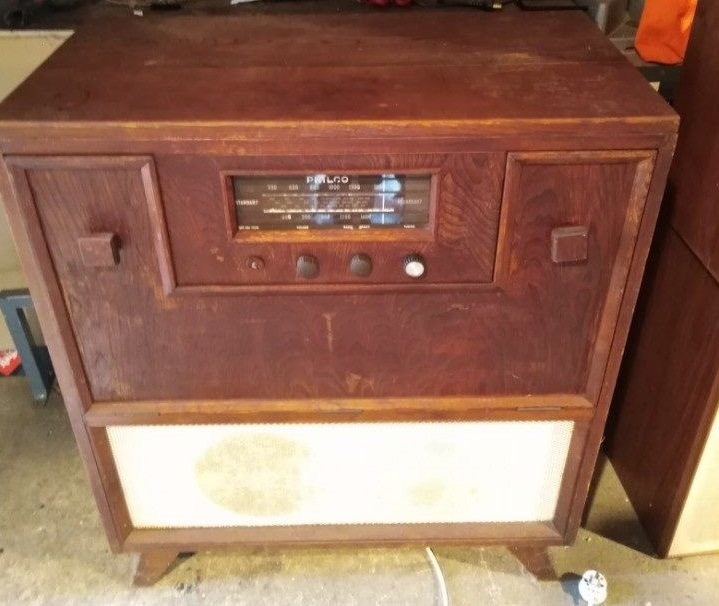 NZ Vintage Radio - 1954 Philco model 555ARC