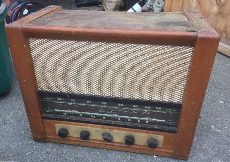 NZ Vintage Radio - 1953 Philco model 671
