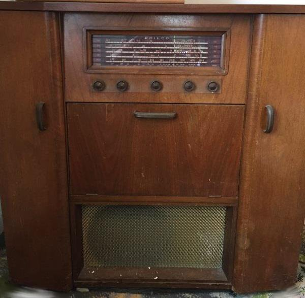 NZ Vintage Radio - 1952 Philco model 852