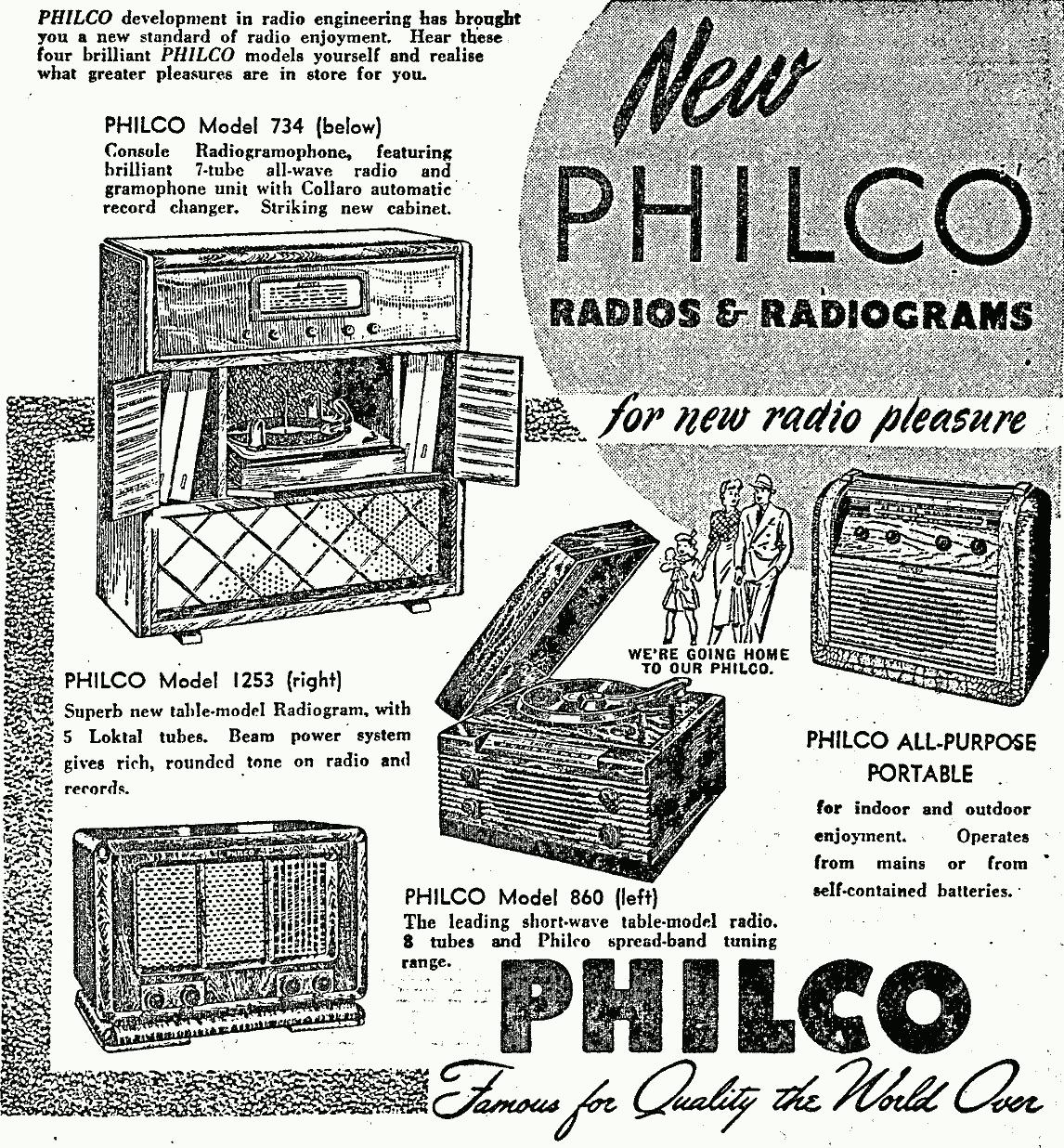 the nz vintage radio project philco model 860  1949