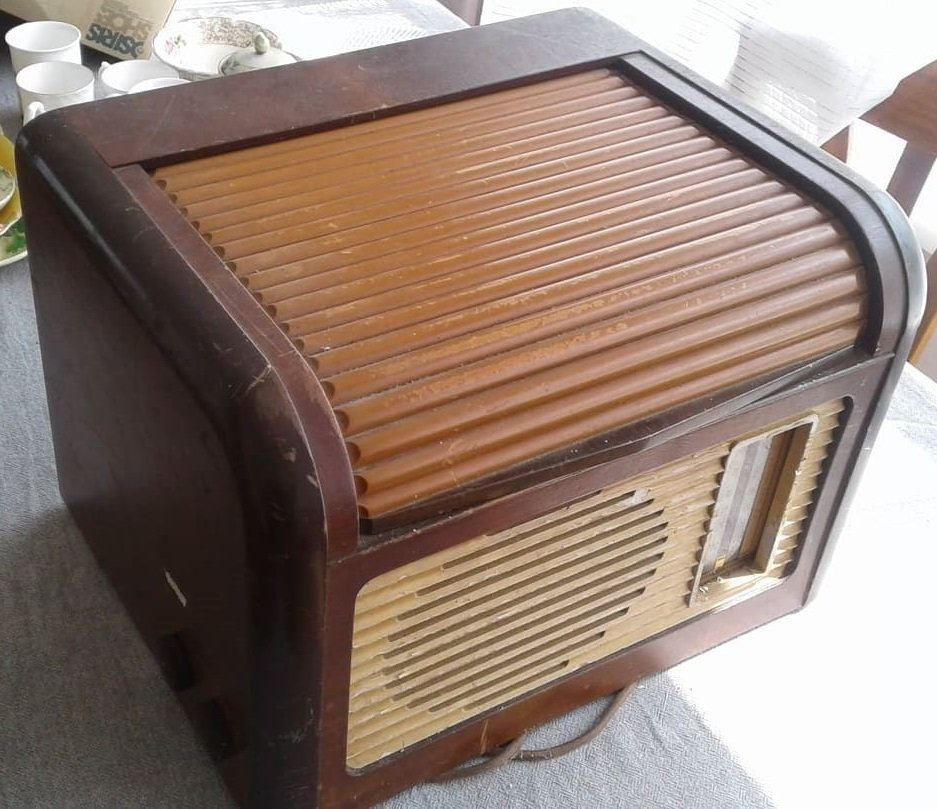 NZ Vintage Radio - 1949 Philips  model 499