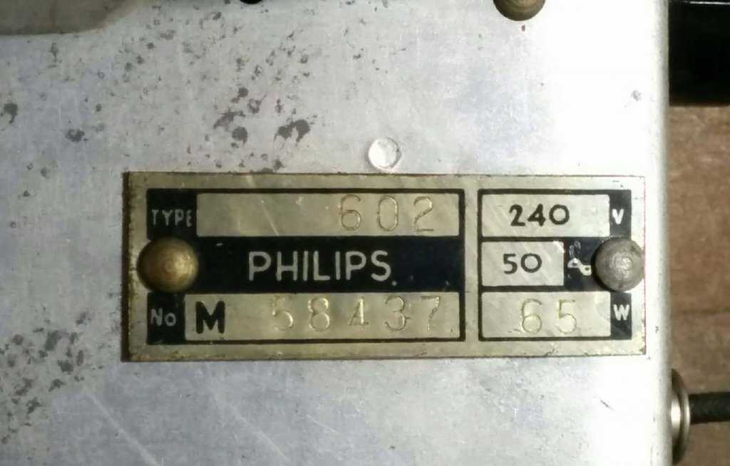 NZ Vintage Radio - 1949 Philips  model 602