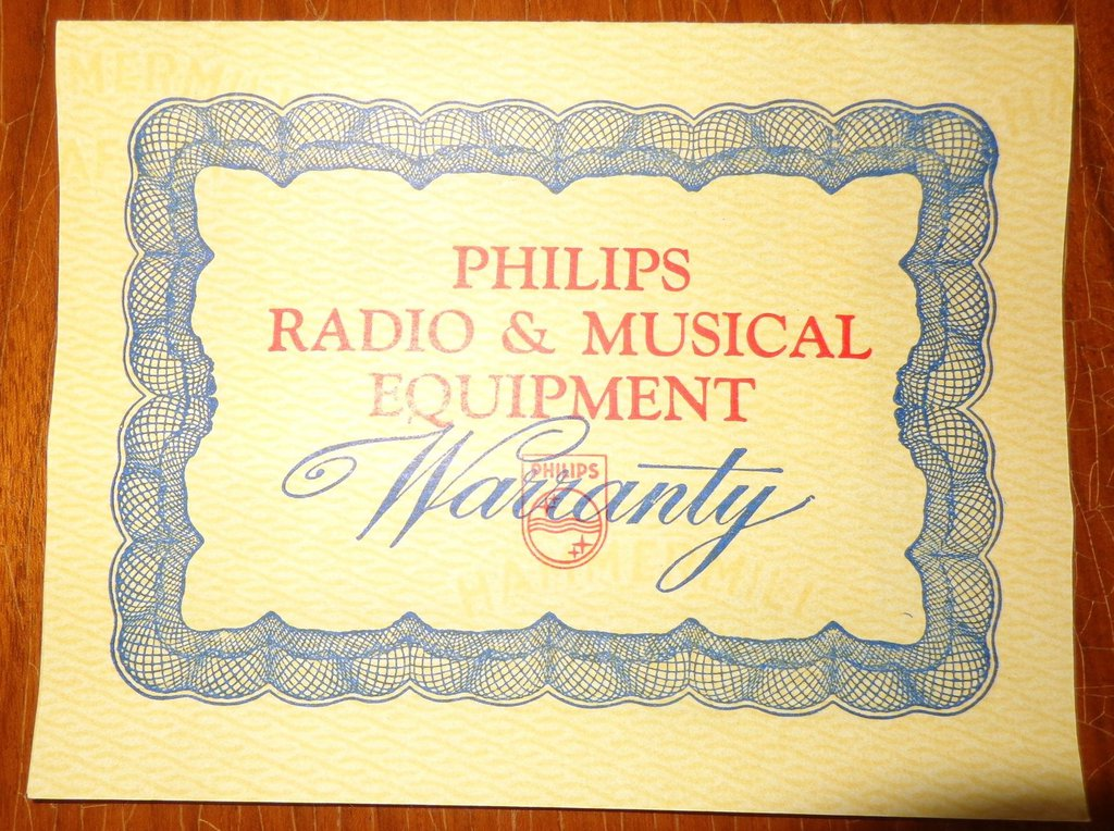 NZ Vintage Radio - 1961 Philips F9Z06A
