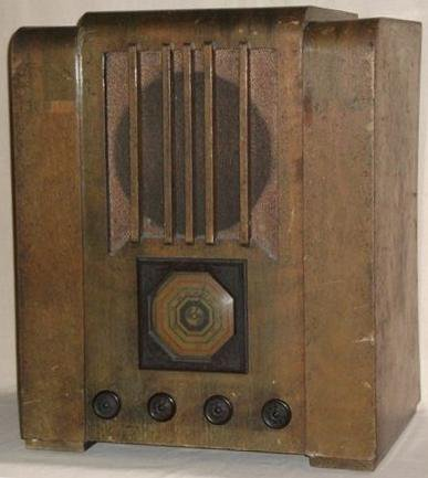 NZ Vintage Radio - 1936 Philips P636
