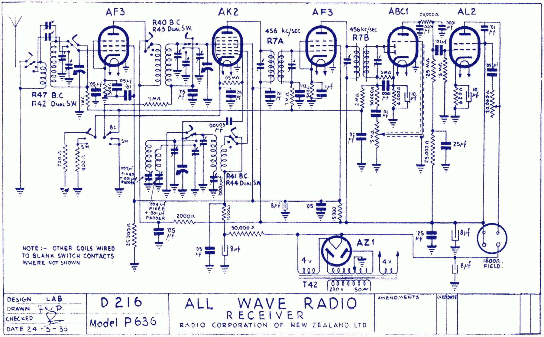 1936 Philips P636