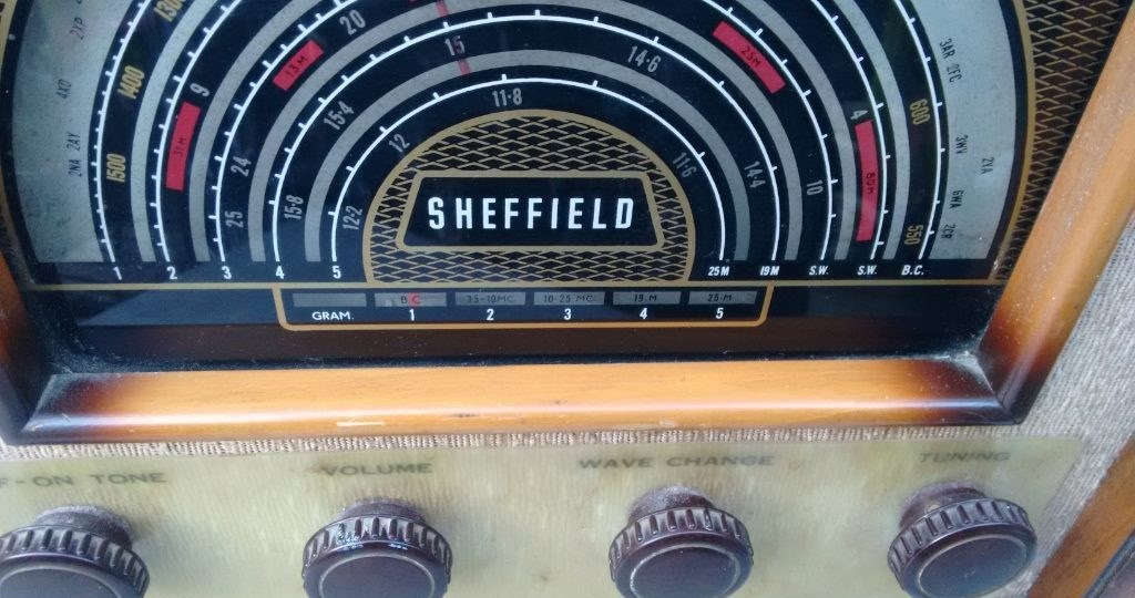 NZ Vintage Radio - Sheffield 856