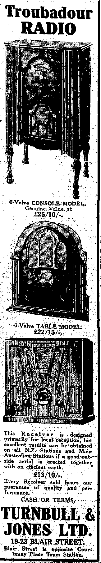 1932 Troubadour Table 6
