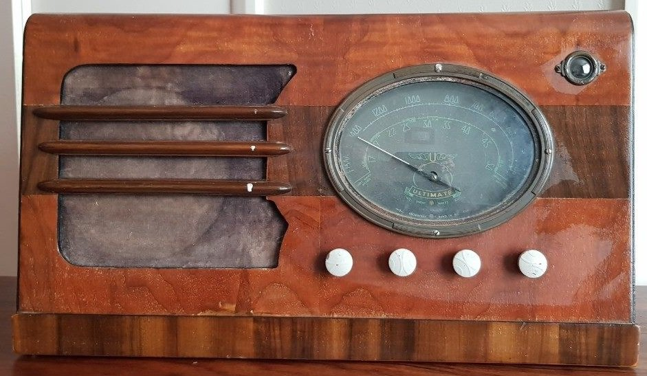 NZ Vintage Radio - 1938 Ultimate BYU