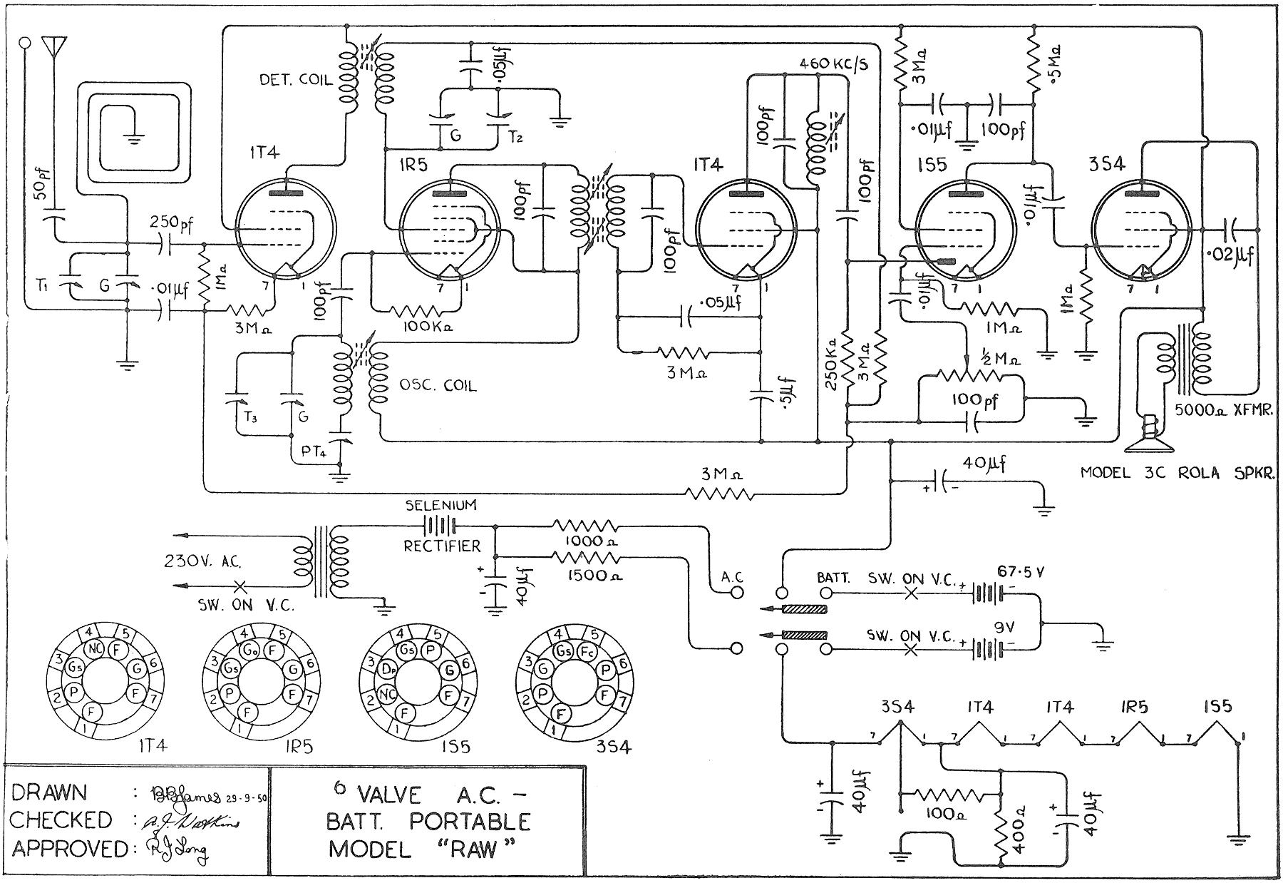 1951 Ultimate RAW Schematic