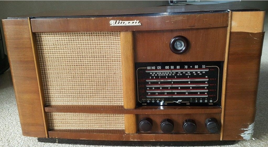 NZ Vintage Radio - 1951 Ultimate RBH Original model