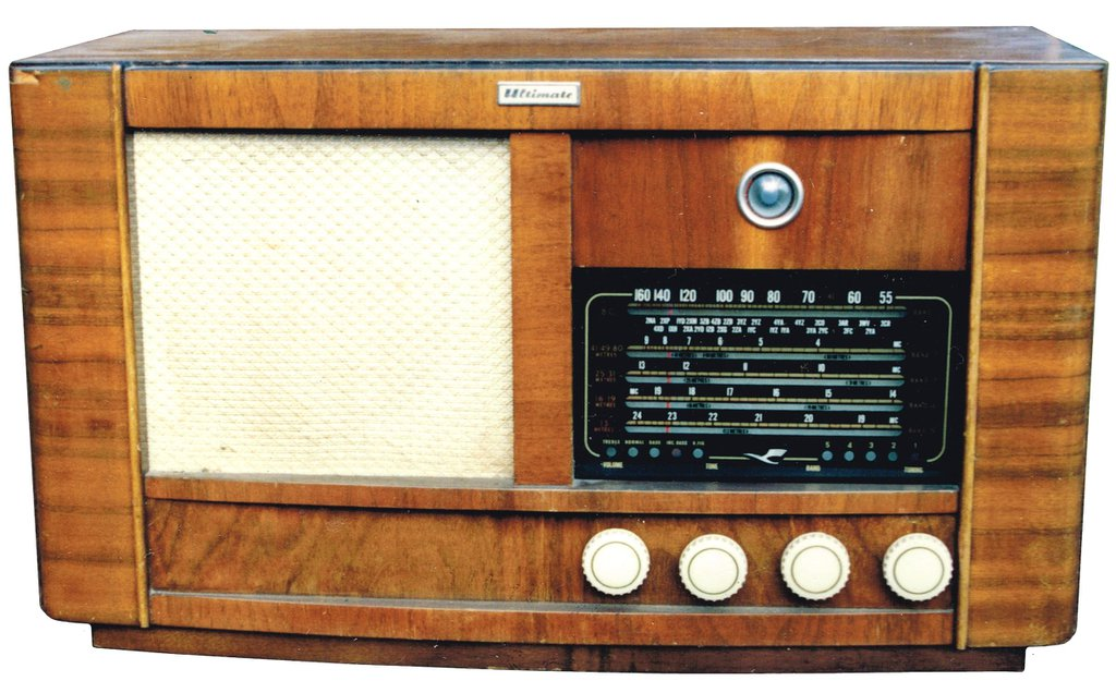 NZ Vintage Radio - 1951 Ultimate RBH 'Drummond' updated model