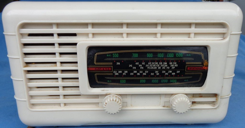 NZ Vintage Radio - Ultimate RCP 'Cygnet'