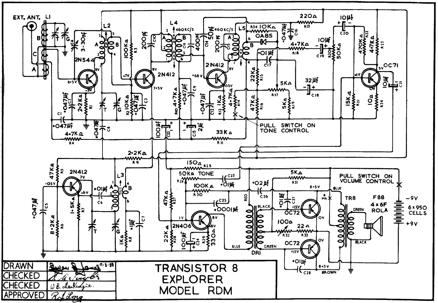 1959 Ultimate RDM Schematic
