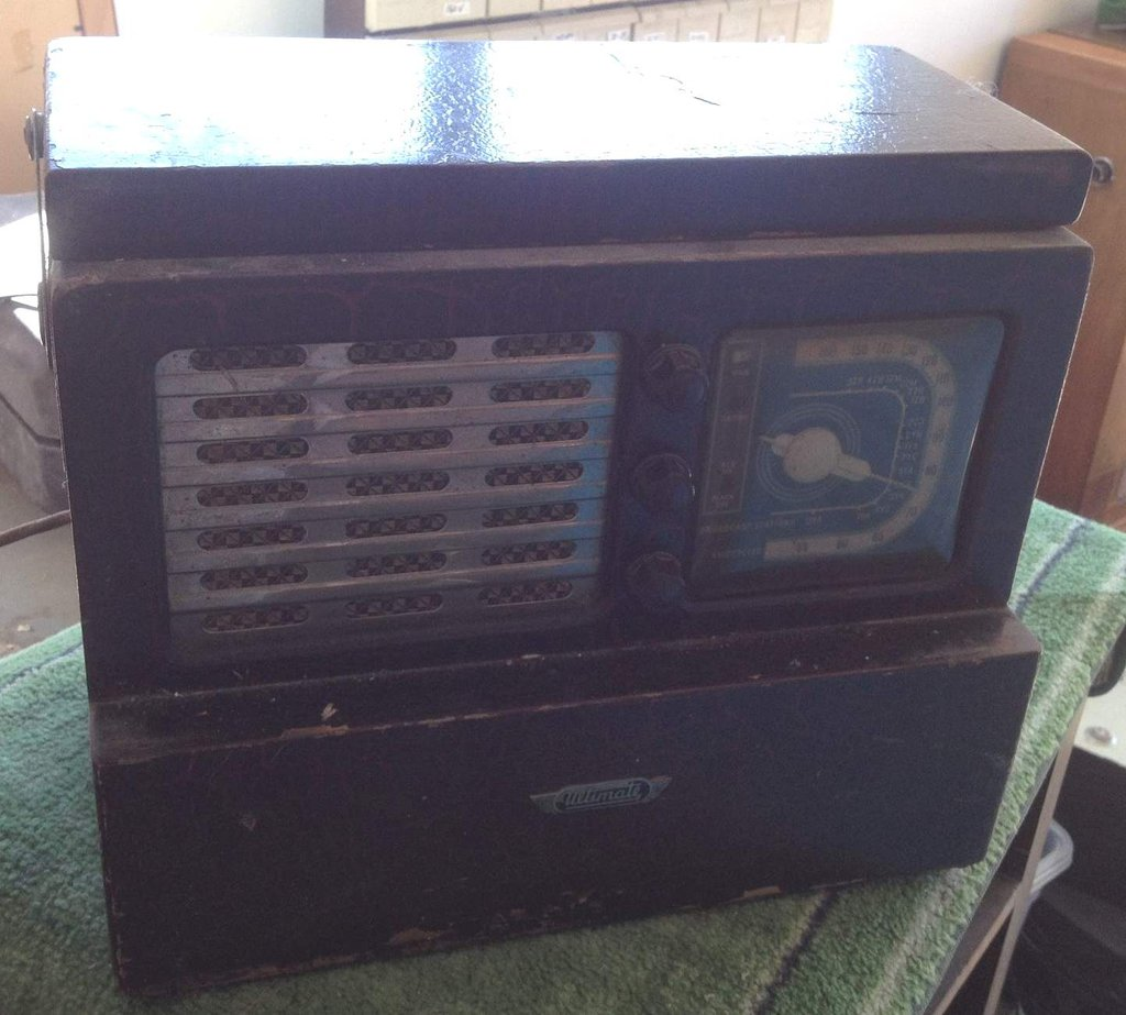 NZ Vintage Radio - 1946 Ultimate RJ