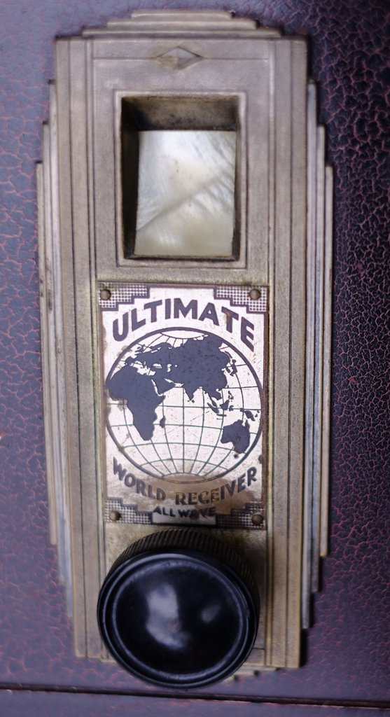 NZ Vintage Radio - 1928 Ultimate SG4