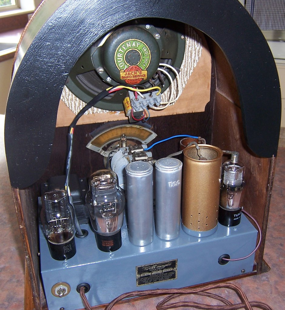 NZ Vintage Radio - 1932 Well-Mayde SG42